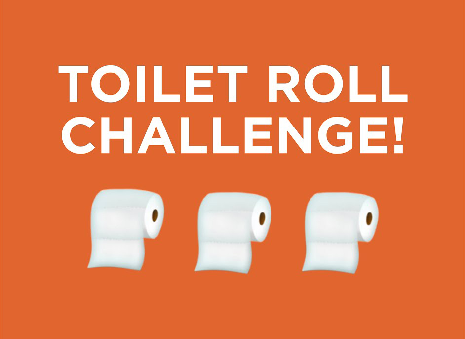 Young Gloves Toliet Roll Challenge